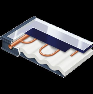 Opsætning af solvarme anlæg og reparation